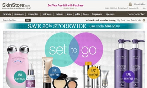 Skinstore - where to find the best beauty discounts