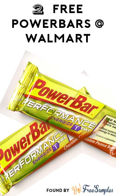2 FREE PowerBars At Walmart (MobiSave Required)