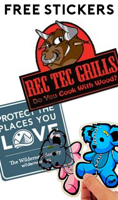 3 FREE Stickers Today: Together We Rise Stickers, Wilderness Society Decal & REC TEC Grills Decal