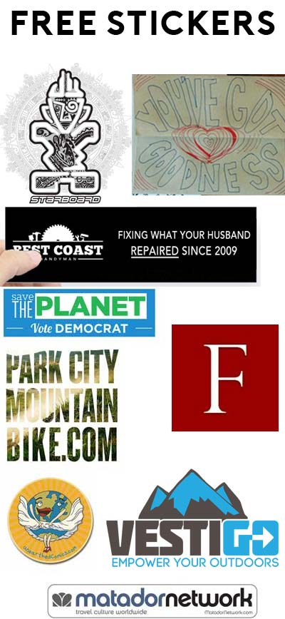 9 free stickers today best coast handyman bumper sticker youve got