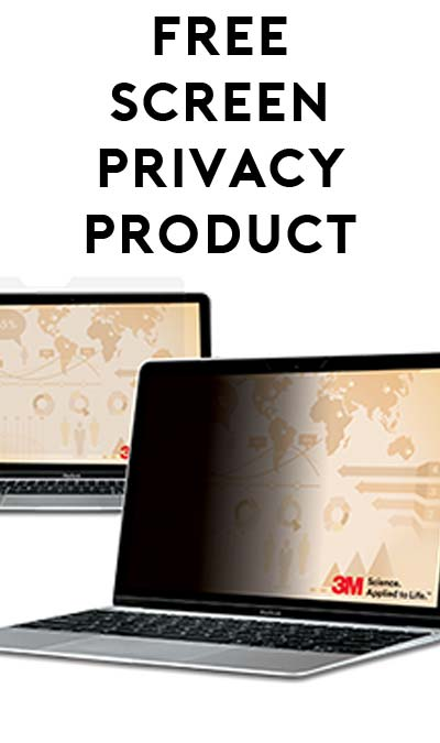 FREE 3M Privacy Product Sample (Survey & Business Name Required)