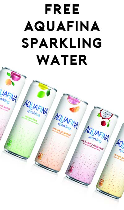 BACK IN STOCK: FREE Aquafina Sparkling Water Coupon Mailed To Your Home