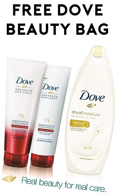 FREE Dove Beauty Bag For Rite-Aid Plenti Card Holders