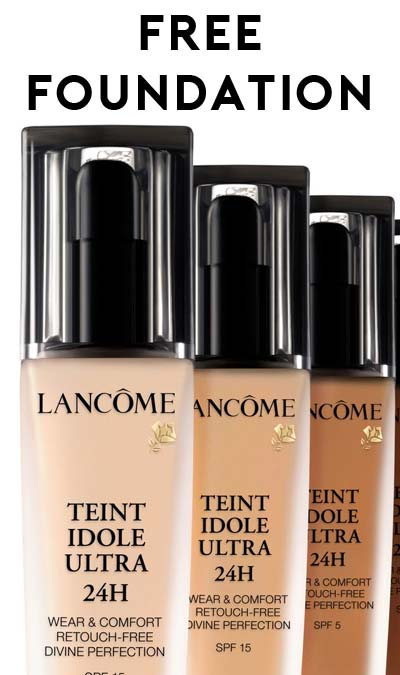 FREE Lancome Teint Idole Ultra 24Hour Foundation Sample Verified – Free Mail Sample