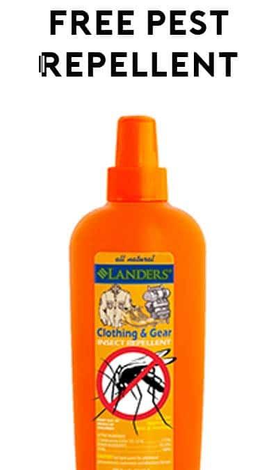 FREE Lander's Naturals Pest Repellent