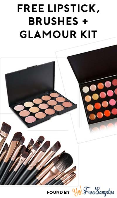FREE Lipstick, Brushes, Contouring & The Ultimate Glamour Kit For Referring Friends