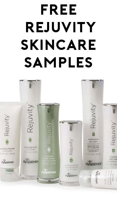 FREE Rejuvity Skincare Samples (Survey Required)