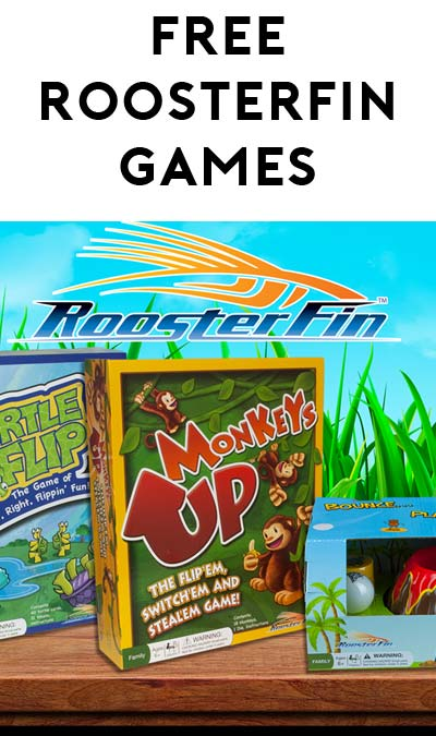 FREE RoosterFin Games Party Kit (Apply To Host Party With Tryazon)