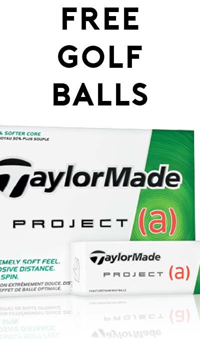 FREE TaylorMade Project(a) Golf Ball Sleeve [Verified Received By Mail]