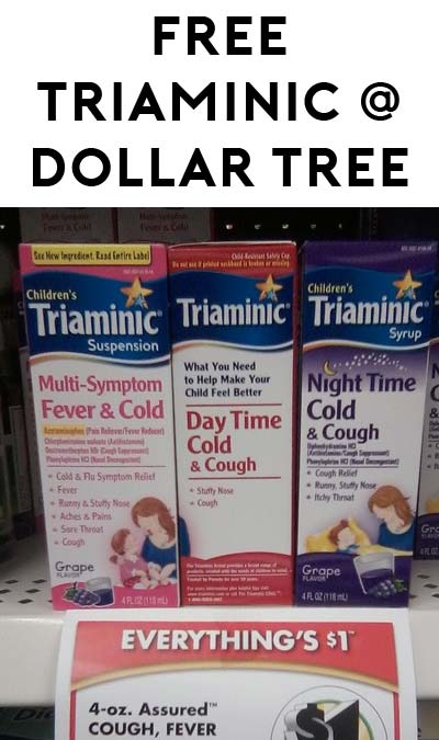 FREE Triaminic at Dollar Tree (Coupon Required)