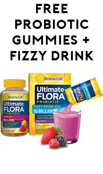 Ultimate flora probiotic gummies