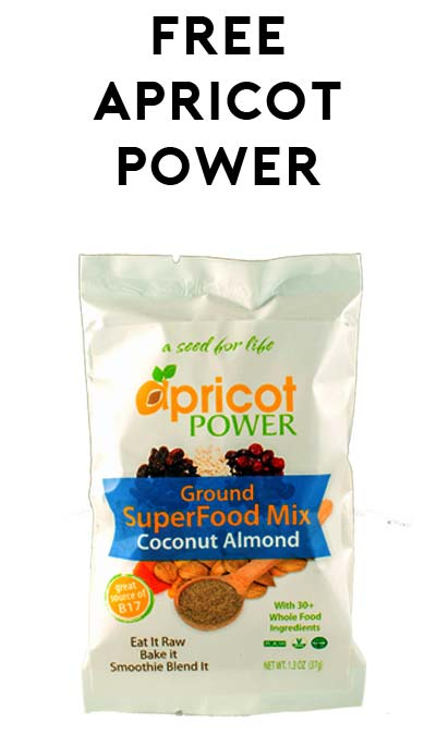 FREE Apricot Power B17-Infused Superfood Mix At 5PM EST For Mom's Week (Facebook Required / Not Mobile Friendly)