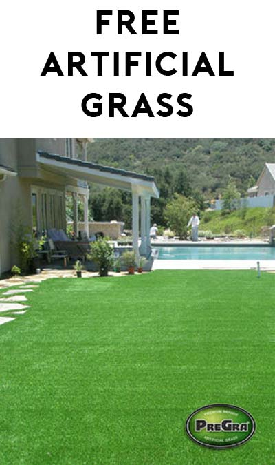 FREE PreGra Premium Artificial Grass Sample [Verified Received By Mail]