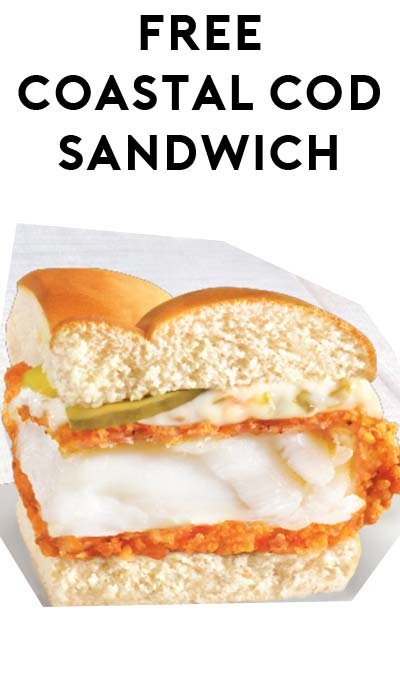 FREE Long John Silvers Coastal Cod Sandwich Sample Size Tomorrow (7/1) From 11AM-2PM