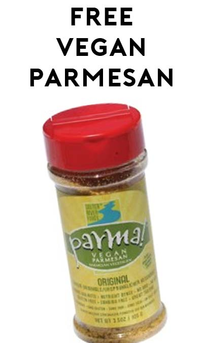 FREE Parma! Vegan Parmesan Sample