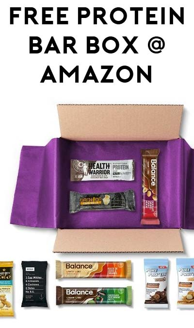 8 FREE Protein Bars After Rebate On Amazon (Free Shipping For Prime)