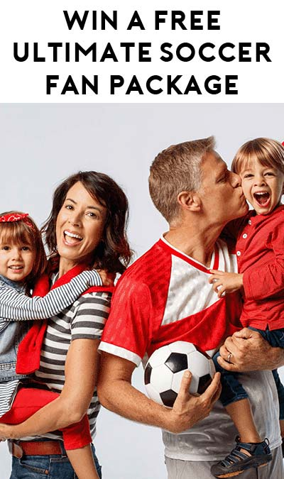 Win A FREE Ultimate Soccer Fan Package From Johnson & Johnson