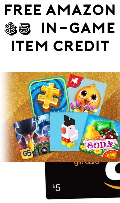 FREE $5 In-Game Credit On Amazon Appstore (Android/Fire Tablets Only)