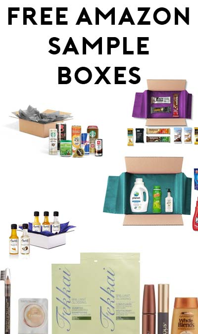 FREE Amazon Makeup, Skin Care, Amoretti, Snack, Suds, Energy, Protein & Snack Sample Boxes After Amazon Credit