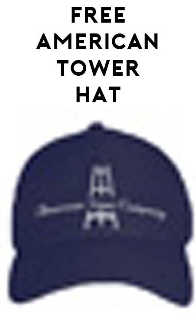 FREE American Tower Hat (Company Name Required)