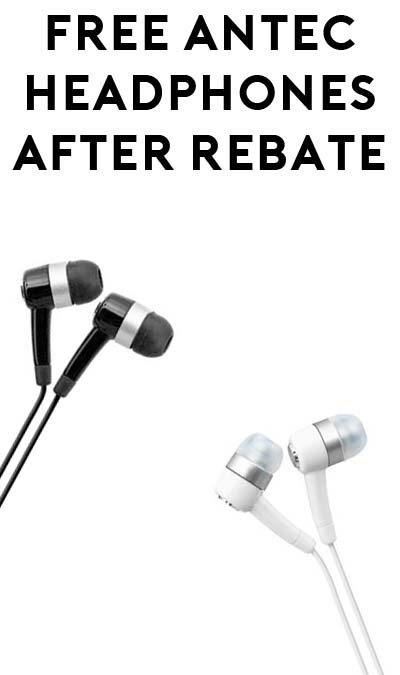 FREE Antec Headphones After Rebate At Frys