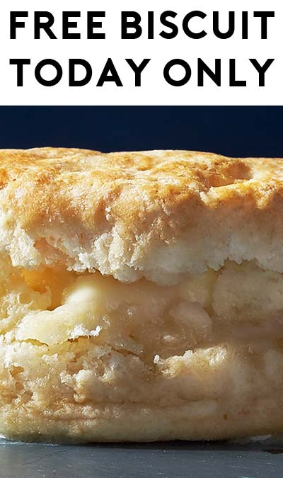 FREE Biscuit At Biscuitville For National Buttermilk Biscuit Day (NC & VA Only)