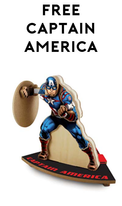 FREE Captain America From Lowe's Build & Grow Clinic
