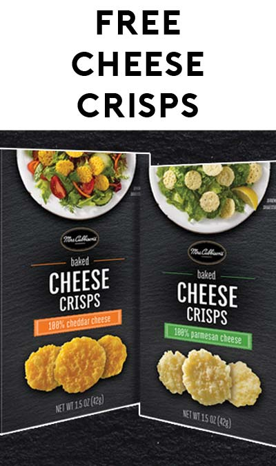 FREE Mrs. Cubbison's Baked Cheese Crisps At 12pm PT / 3pm EST Daily (Facebook Required)