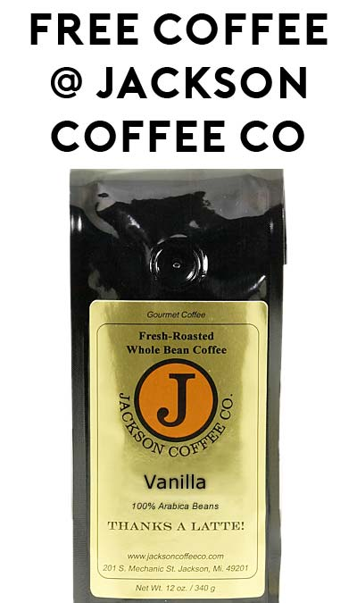 FREE Coffee From Jackson Coffee Company (Jackson, Michigan Residents Only)