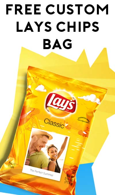 FREE Customized Photographic On A Lay's Chips Bag (Instagram Required) [Verified Received By Mail]