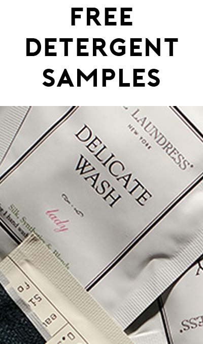 FREE Laundress Fabric Detergent Samples