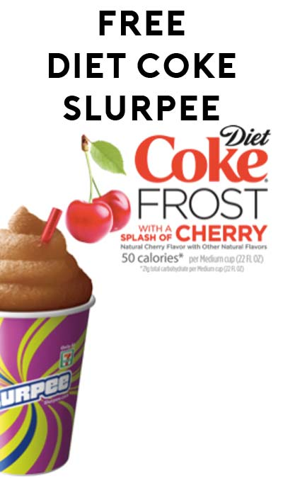 FREE Small Diet Coke Cherry Slurpee At 7-Eleven (Text Required)