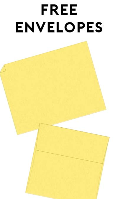 5 FREE Envelopes From APEC Envelopes