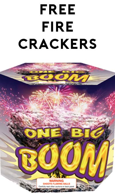 50 FREE Firecrackers at Fireworks Supermarket