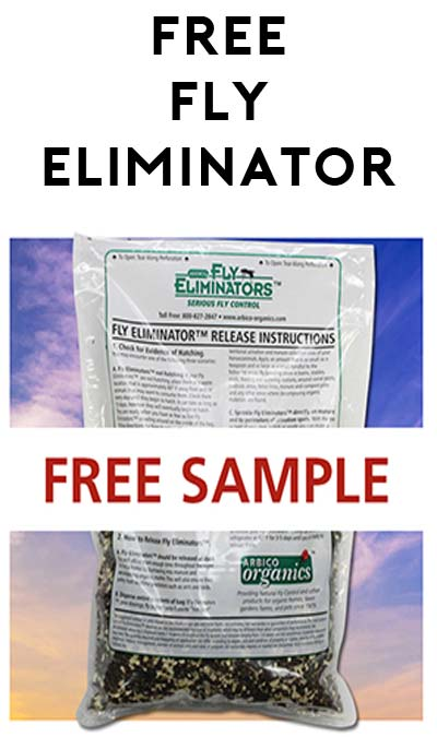 FREE Fly Eliminator From ARBICO Organics (CC/PayPal Required, Still Free Though)