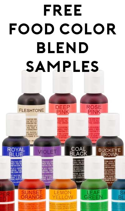 FREE Chefmaster Food Color Blend Samples