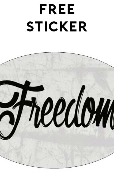 "FREE ""Freedom"" Sticker"