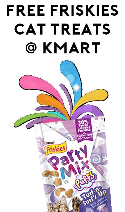 Today Only: FREE Friskies Treats Party Mix or Rope Tug Dog Toy at Kmart