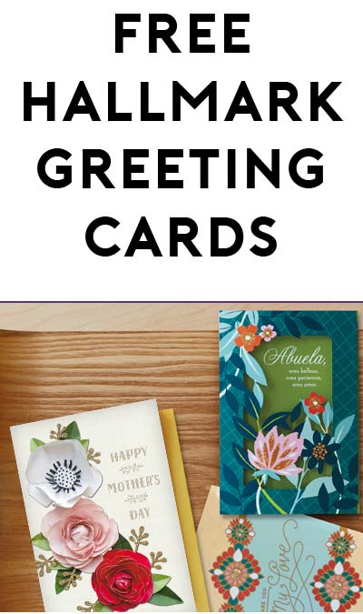 3 FREE Hallmark Greeting Cards At CVS (Coupon Required)
