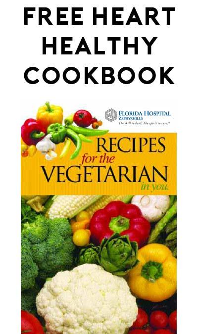 FREE Heart Healthy Vegitarian Cookbook