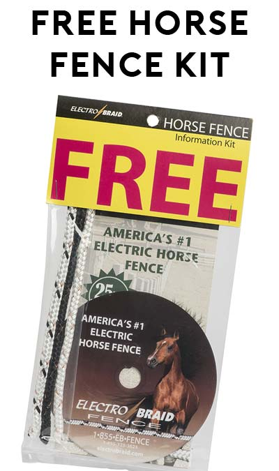 FREE Horse Fence Kit [Verified Received By Mail]