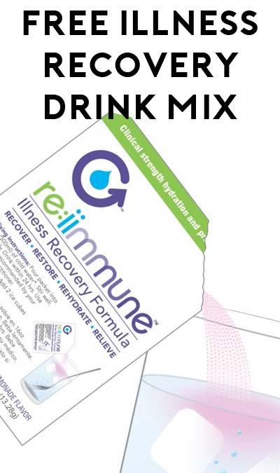 FREE re:iimmune Illness Recovery Drink Mix Formula
