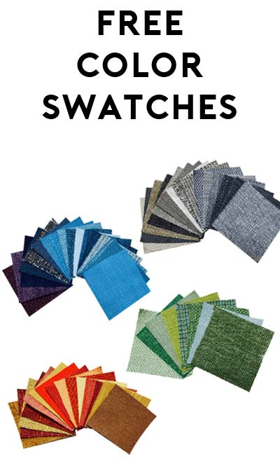 4 FREE Color Swatches From JoyBird Furniture [Verified Received By Mail]