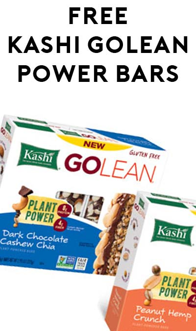 5 FREE Kashi Go Lean Plant Power Bars At Target (Coupon Stacking Required)