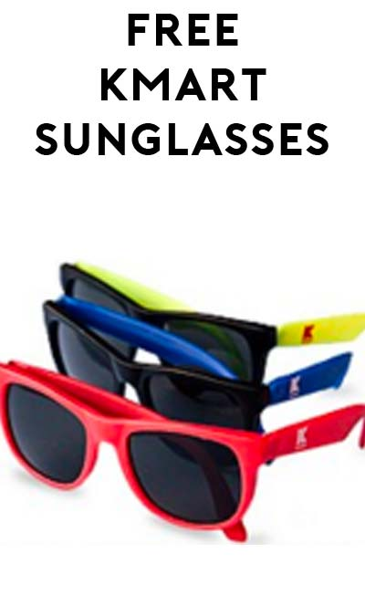 FREE Sunglasses At Kmart On May 14th (Kids 12 & Under Only)