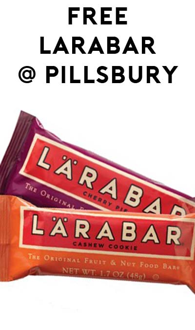 FREE Larabar (Existing Pillsbury Members Only)