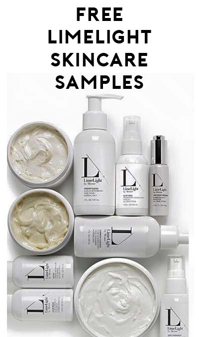 FREE LimeLight Chemical Free Skin Care Samples by Alcone