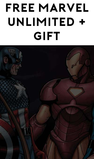 FREE Marvel Unlimited Month & Captain America / Iron Man Gift
