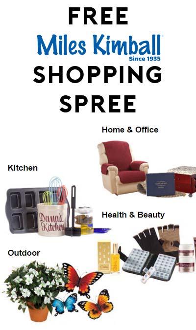 Win A FREE $250 Miles Kimball Shopping Spree