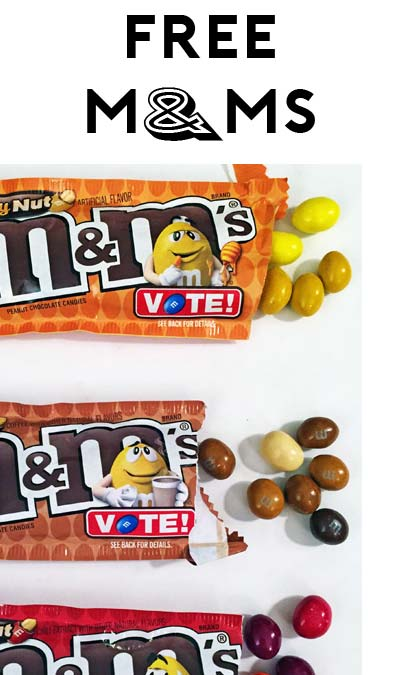 TODAY ONLY: FREE M&M's Bag At Farm Fresh, Hornbachers, Shop 'N Save, Shoppers & Cub Stores